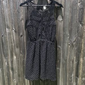 Forever 21 EUC sheer mini dress S